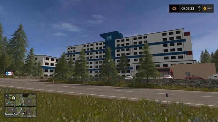 FS17 - Valley Crest Farm 4X Map V1 7 5 | Simulator Games Mods Download