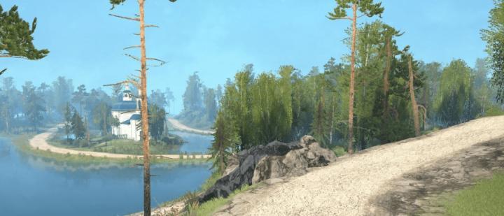 SpinTires Mudrunner - Cross ZIL 4331 Map v1.0 | Simulator Games Mods on