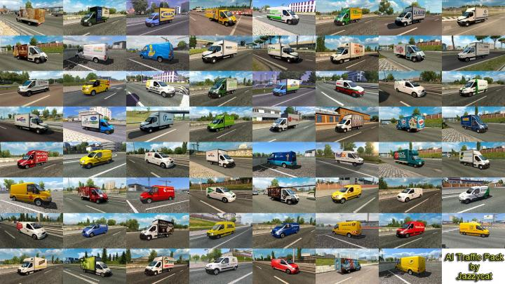 Ets2 Ai Traffic Pack By Jazzycat V8 8 1 32 X Simulator Games Mods Download