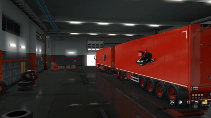 ETS2 – Combo Skin Packs Volvo Fh V1 (1.33.x) – Simulator Games Mods Download