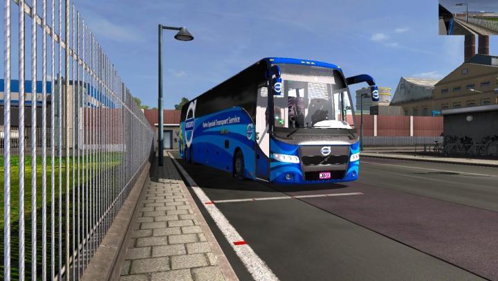 Volvo Truck Center >> ETS2 – Volvo 9700 Special Transport Service Dbmx Bus Mods 4K Skin V2 (1.32.x) – Simulator Games ...
