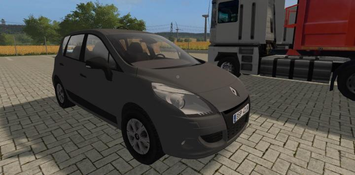 fs17 renault scenic iii pl v1 simulator games mods download. Black Bedroom Furniture Sets. Home Design Ideas