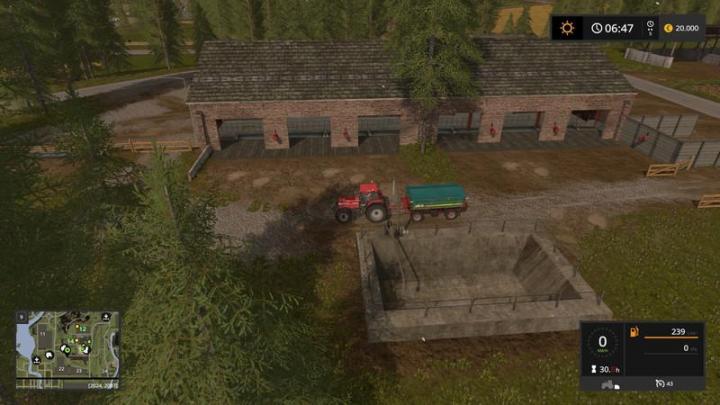 FS17 - Valley Crest Farm Map 4X V1 7 6 | Simulator Games Mods Download