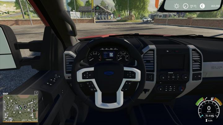 Car Driving Games >> FS19 – 2017 Ford F250 Fixed V2 | Simulator Games Mods Download