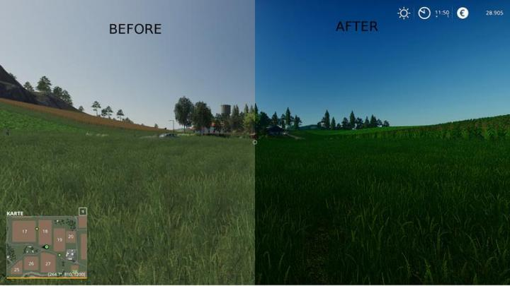 Car Driving Games >> FS19 - Better Graphics - Shadermod | Simulator Games Mods ...