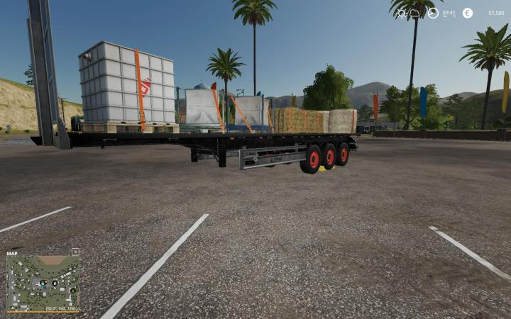 FS19 - Fliegl Sds 350 Trailer V1 | Simulator Games Mods Download