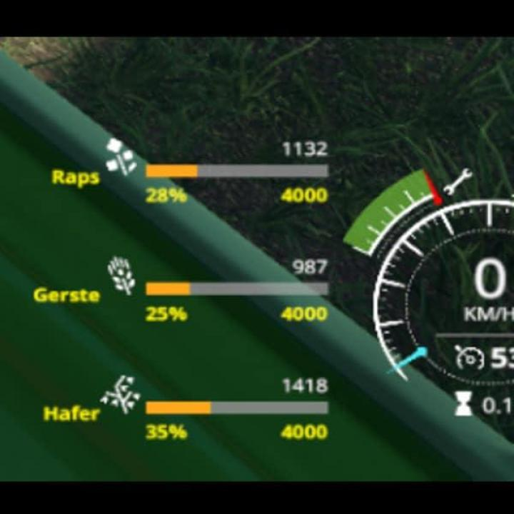 FS19 - Vehicle Fruit Hud V0.2 Beta