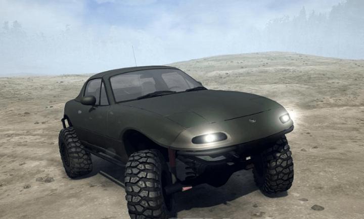 Spintires Mudrunner Mazda Miata 44 Offroad V103018 Simulator