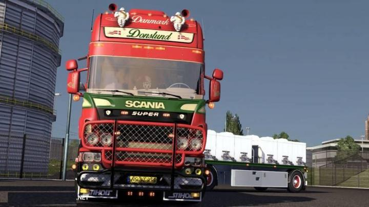 Car Wheel Dolly >> ETS2 - Scania Donslund V1 (1.33.x) | Simulator Games Mods ...