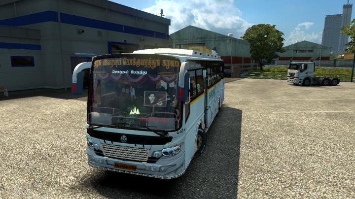 ETS2 - Setc Tamilnadu New Bus Maruti V2 (1 30 x) | Simulator