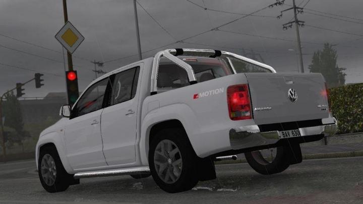 Ets2 Volkswagen Amarok V6 V1r2 1 33 X Simulator Games Mods Download