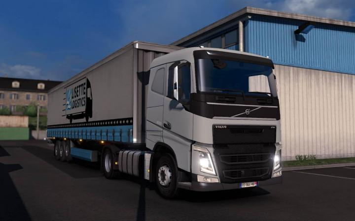 ETS2 – Volvo Fh&fh16 2012 Reworked V3.1.3 (1.33.x) – Simulator Games Mods Download