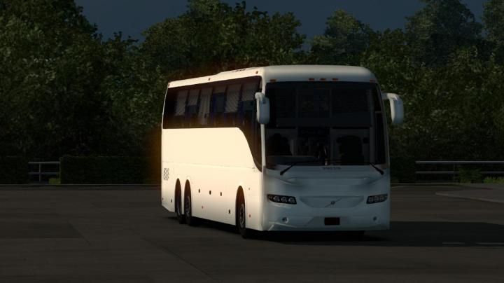 ETS2 - Volvo Right Hand Bus (1 31 x)   Simulator Games Mods Download