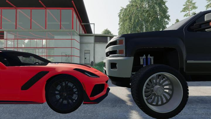 Car Games 2016 >> FS19 - 2016 Chevy 2500Hd Duramax V1.2 | Simulator Games Mods Download