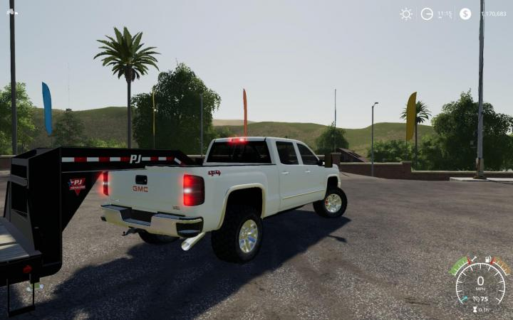 fs19 gmc fs 2500hd sierra v1 mods simulator farming lifted 2500 mod duramax cars hd ls fs17 portal gamesmods