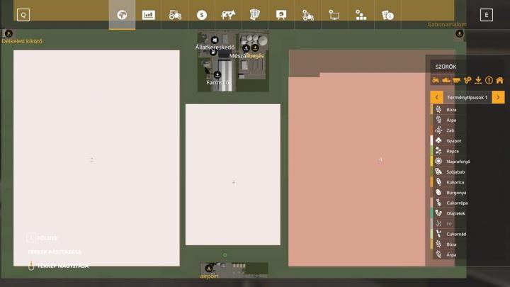 Driving Test Games >> FS19 - Bigfiels Zoltanm V4 | Simulator Games Mods Download