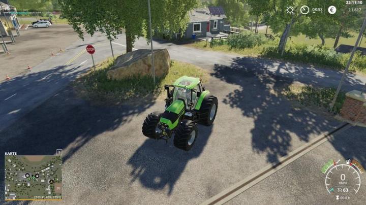 FS19 - Deutz Series 7 Tractor V1   Simulator Games Mods Download