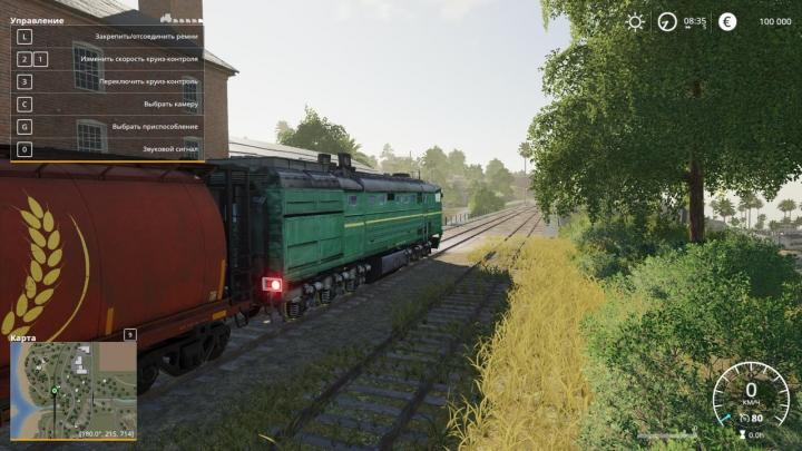 Car Simulator Games >> FS19 - Diesel Locomotive V1 | Simulator Games Mods Download