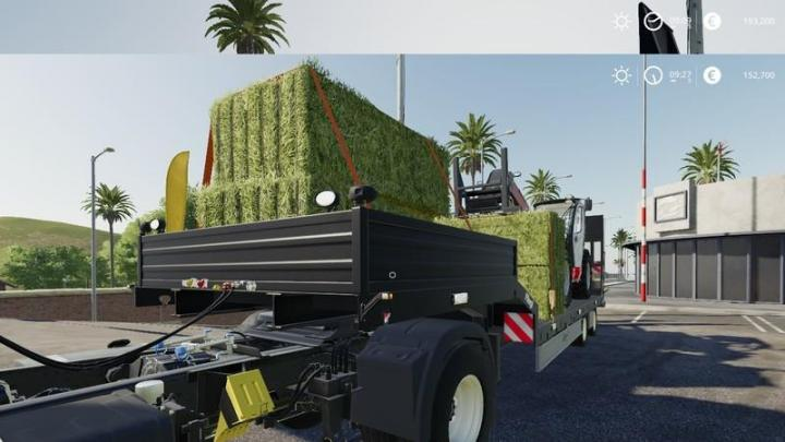 Car Simulator Games >> FS19 - Flielg Semi Trailer V1.1 | Simulator Games Mods Download