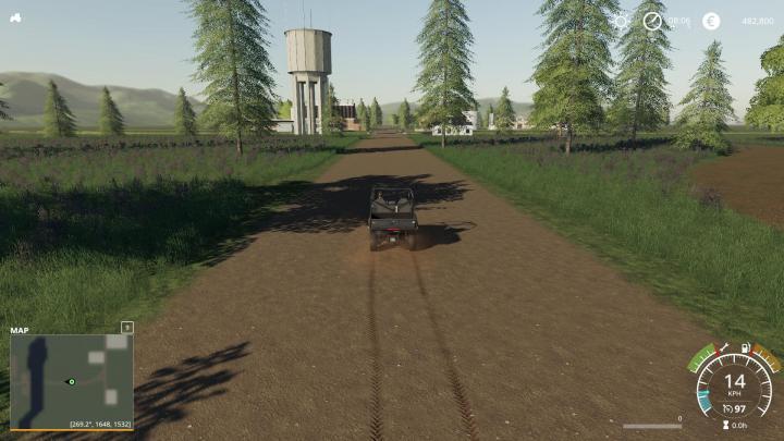 Driving Test Games >> FS19 - Horsetrailfarm Map V1 | Simulator Games Mods Download