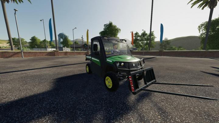 Fs19 John Deere Gator Utility Vehicle V1 3 Simulator