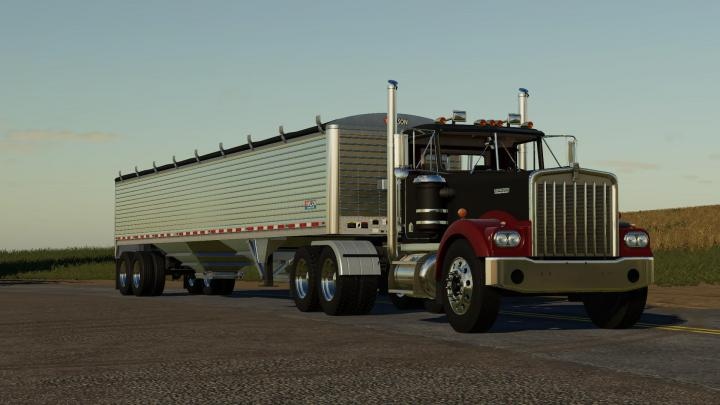 fs19  u2013 kenworth w900a 1776 truck v1  u2013 simulator games mods download