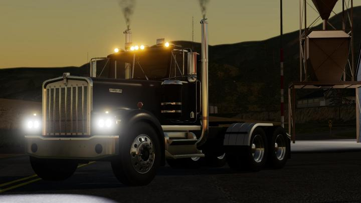 Car Simulator Games >> FS19 - Kenworth W900A 1776 Truck V1 | Simulator Games Mods Download