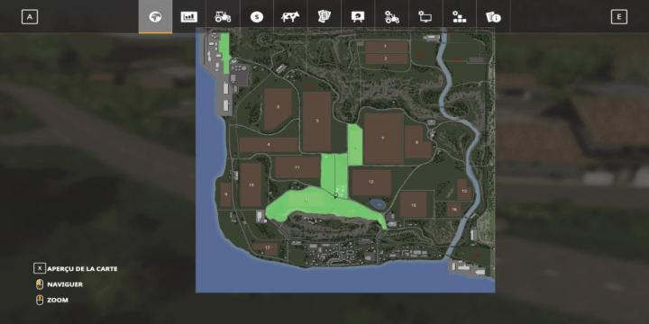 Driving Test Games >> FS19 - Landfields Map V1 | Simulator Games Mods Download