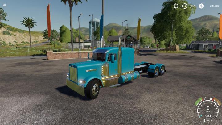 FS19 – Peterbilt 379 Truck V2 – Simulator Games Mods Download