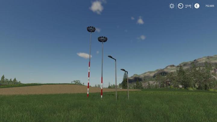 Car Driving Games >> FS19 - Placeable Light Pack V2 | Simulator Games Mods Download