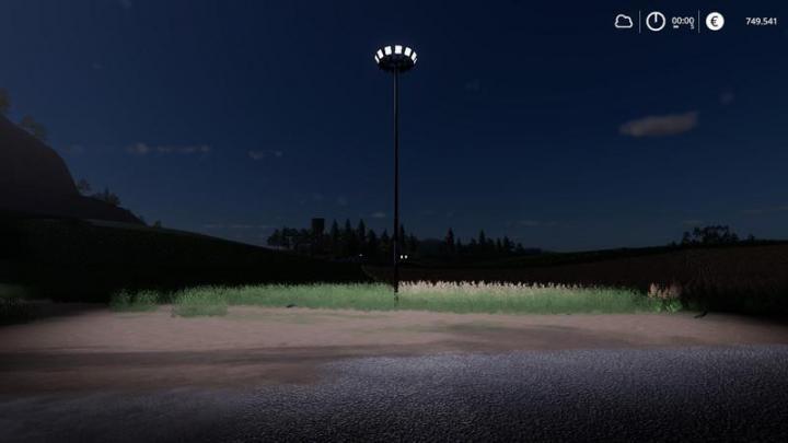 Car Simulator Games >> FS19 - Placeable Light Pack V2 | Simulator Games Mods Download