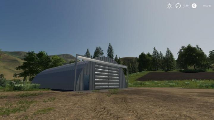 FS19 – Placeable Quonset Shed V1 | Simulator Games Mods