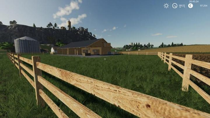 Fs19 Wooden Horse Stable With Dung V1 Simulator Games
