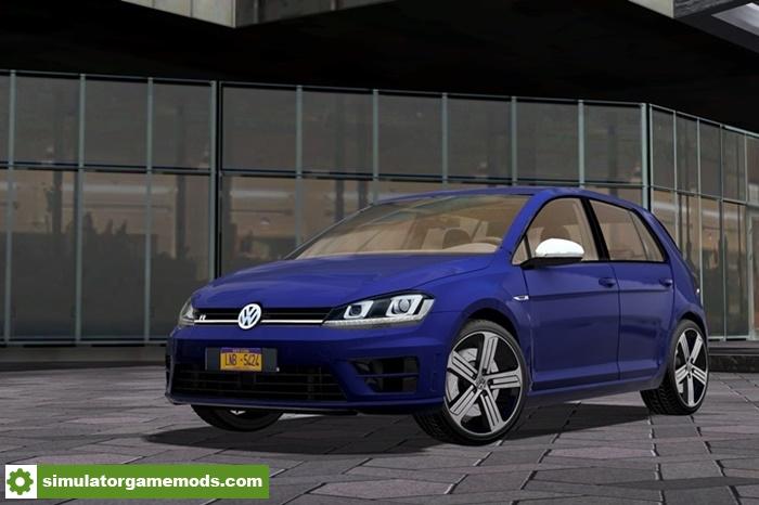 28d930281c5 City Car Driving 1.5.7 - 2014 Volkswagen Golf R Car Mod | Simulator ...