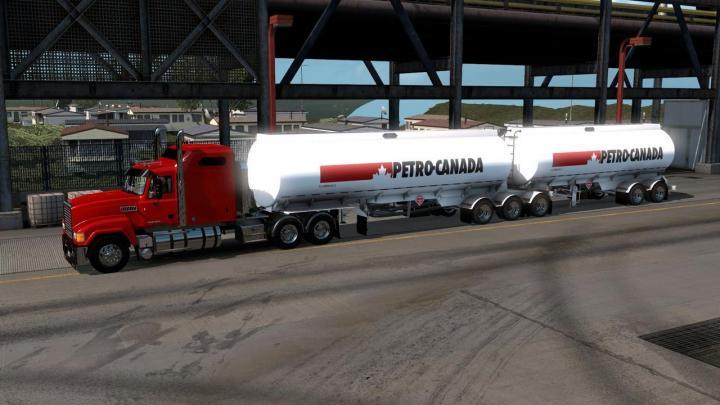 Car Simulator Games >> ATS - Advanced B-Train Tanker (1.32.x) | Simulator Games
