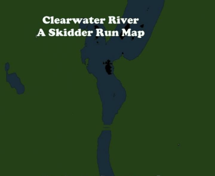 SpinTires Mudrunner - Clearwater river A skidder run map v13.01.19 on