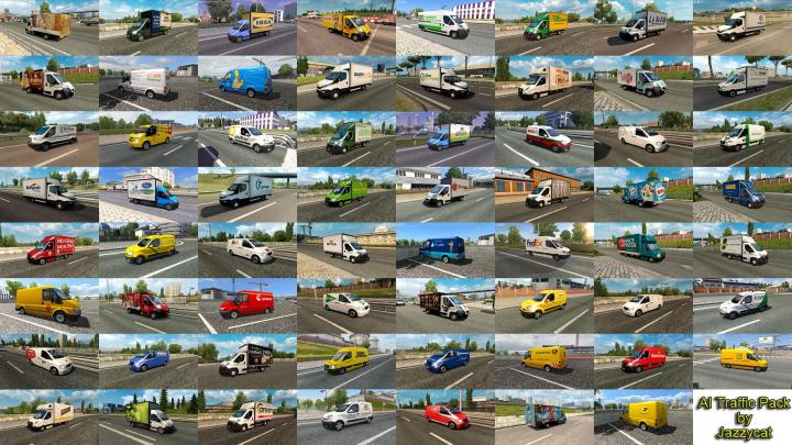 Ets Ai Traffic Pack By Jazzycat V X