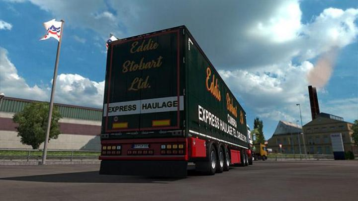 Eddie stobart trucks and trailers simulator downloads