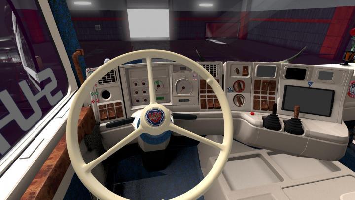 Car Simulator Games >> ETS2 – Scania 143M V8 420 Lars Jorgensen V1 (1.33.x) | Simulator Games Mods Download