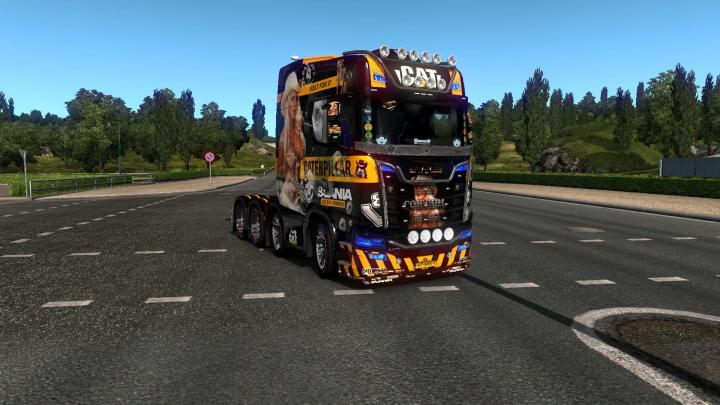 ETS2 - Scania S730 Nextgen (1 33 x) | Simulator Games Mods