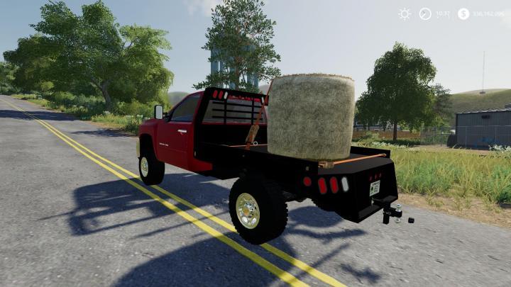 Fs19 2010 Silverado 2500hd Flatbed V1 Simulator Games Mods Download
