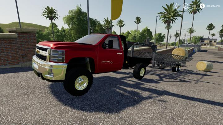 Fs19 2010 Silverado 2500hd Flatbed V1 Simulator Games