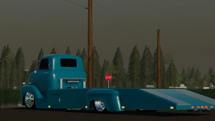 FS19 - 48 Chevy Ramp Truck And 71 Chevy C10 V1 | Simulator ...