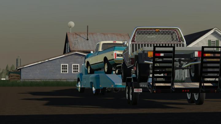 FS19 - 48 Chevy Ramp Truck And 71 Chevy C10 V1   Simulator ...