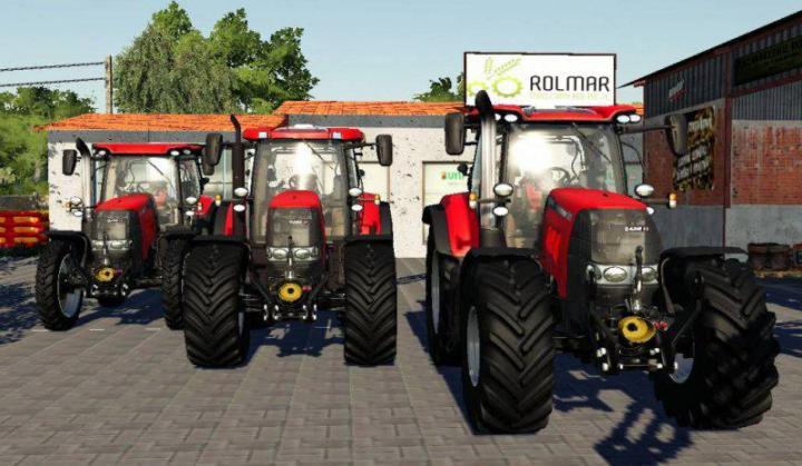 Car Simulator Games >> FS19 - Case Ih Puma Cvx Pack V2 | Simulator Games Mods Download