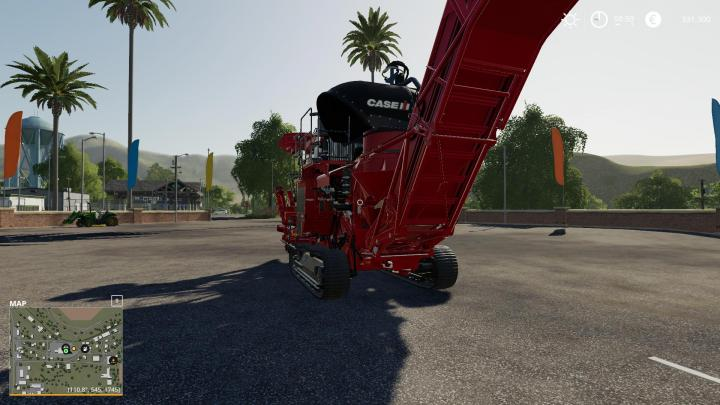 International Harvester Truck >> FS19 - Case Ih Suger Cane Harvester V1   Simulator Games ...