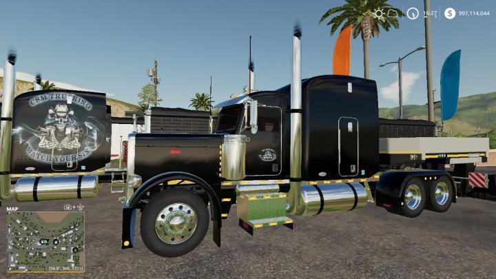 Custom Truck Headlights >> FS19 - Csm Trucking Peterbilt 388 Package V2 | Simulator ...