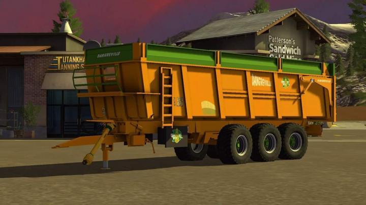Fs19 Dangreville 24t Trailer V1 Simulator Games Mods Download