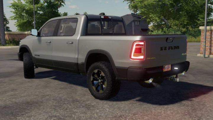 Fs19 Dodge Ram 1500 Rebel V1 1 Simulator Games Mods