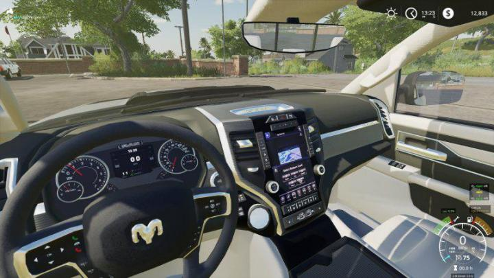 Fs19 Dodge Ram 1500 Rebel V1 1 Simulator Games Mods